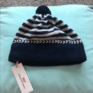 NWT Vineyard Vines Striped Navy Hat